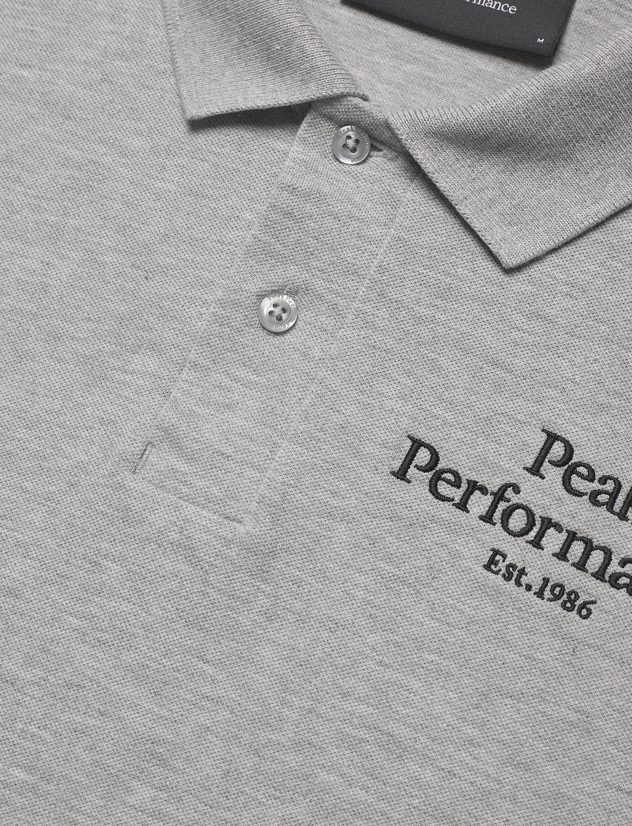 Peak Performance - M Original Polo - polo's - med grey melange - 1