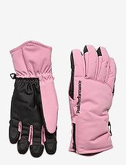 Peak Performance - Unite Glove Black - accessoires - frosty rose - 0
