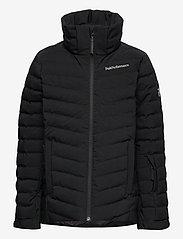 Peak Performance - Jr Frost Ski Jacket Cold Blush - geïsoleerde jassen - black - 1