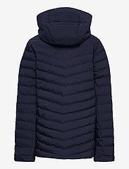 Peak Performance - Jr Frost Ski Jacket Cold Blush - gewatteerde jassen - blue shadow - 2