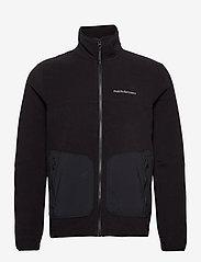 Peak Performance - M Tech Soft Zip Fells View - basic-sweatshirts - black - 0