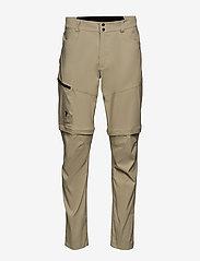 Peak Performance - M Iconiq Zip Pants - spodnie turystyczne - desert terrain - 0