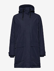 Peak Performance - W UNIT J - parka coats - blue shadow - 1