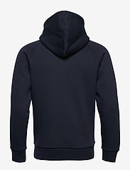 Peak Performance - M Original Zip Hood - perus-college-paitoja - blue shadow - 1
