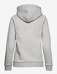 Peak Performance - W Original Hood Cold Blush - hupparit - med grey mel - 1