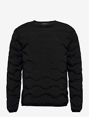 Peak Performance - M Helium Crew Fells View - basic-sweatshirts - black - 0