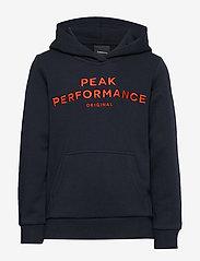 Peak Performance - JR ORIG H - hupparit - salute blue - 0