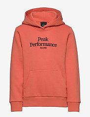 Peak Performance - JR Original Hood - kapuzenpullover - clay red - 0