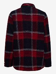 Peak Performance - W Kelly Shirt Jacket Tricolour - wool midlayer - tricolour - 1