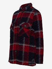 Peak Performance - W Kelly Shirt Jacket Tricolour - wool midlayer - tricolour - 2