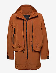 Peak Performance - M X.13 Combined Coat - insulated jackets - orange dune - 0