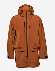 Peak Performance - M X.13 Combined Coat - insulated jackets - orange dune - 2
