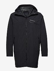 Peak Performance - M Sapphire Light Jacket - kurtki turystyczne - black - 0