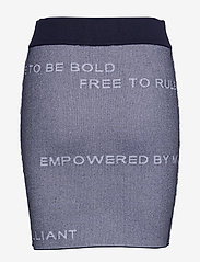 Peak Performance - W Jaquard Skirt - sports skirts - blue shadow - 1