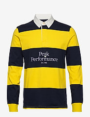Peak Performance - M Light Rugby LS - polo''s - stowaway yellow - 0