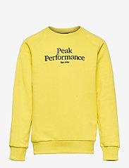 Peak Performance - Jr Original Crew - citrine - 0