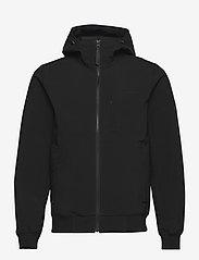 M Softshell Hood Jacket - BLACK