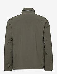 Peak Performance - M Softshell Field Jacket - ulkoilu- & sadetakit - black olive   deep earth - 1