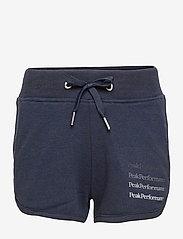 Peak Performance - Jr Ground Shorts G - shorts de sport - blue shadow - 0