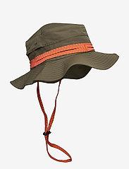 Peak Performance - Safari Hat - bucket hats - black olive - 0