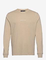 Peak Performance - M Stowaway LS Tee - top met lange mouwen - celsian beige - 0