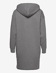 Peak Performance - W Ground Hood Dress - vapaa-ajan mekot - grey melange - 1