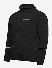 Peak Performance - M Alum Light Jacket - ulkoilu- & sadetakit - black - 2