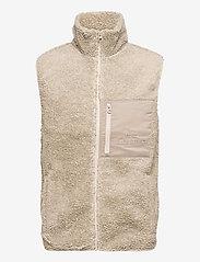 Peak Performance - M Original Pile Vest - sports jackets - celsian beige - 0