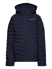Jr Frost Ski Jacket Cold Blush - BLUE SHADOW