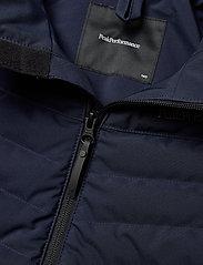 Peak Performance - Jr Frost Ski Jacket Cold Blush - gewatteerde jassen - blue shadow - 5