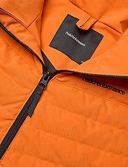 Peak Performance - Jr Frost Ski Jacket Cold Blush - geïsoleerde jassen - orange altitude - 3