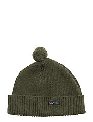 WOOLBEANIE - SWEDISH ARMY GREEN
