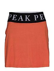 Turf Skirt Women - CLAY RED