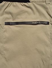Peak Performance - M Iconiq Zip Pants - spodnie turystyczne - desert terrain - 5
