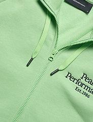 Peak Performance - M Original Zip Hood - basic sweatshirts - pale horizon - 2