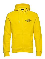 M Original Zip Hood - STOWAWAY YELLOW