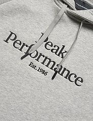 Peak Performance - M Original Hood - hupparit - med grey mel - 2