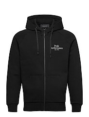 M Original Zip Hood The Alpine - BLACK