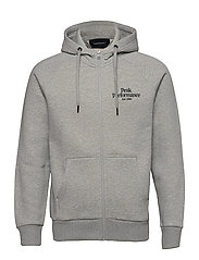 M Original Zip Hood The Alpine - MED GREY MEL
