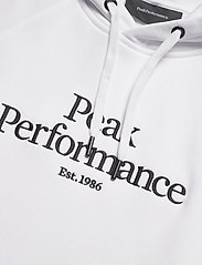 Peak Performance - M Original Hood Blue Elevation - hoodies - white - 2