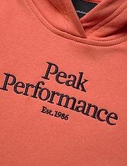 Peak Performance - JR Original Hood - kapuzenpullover - clay red - 2