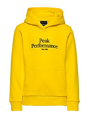 JR Original Hood - STOWAWAY YELLOW