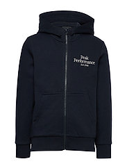 JR Original Zip Hood - BLUE SHADOW