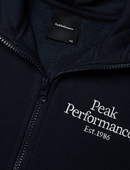 Peak Performance - JR Original Zip Hood - kapuzenpullover - blue shadow - 2