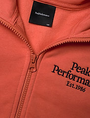 Peak Performance - JR Original Zip Hood - kapuzenpullover - clay red - 2