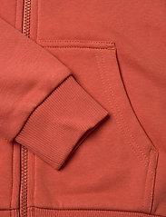 Peak Performance - JR Original Zip Hood - kapuzenpullover - clay red - 3