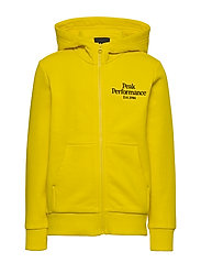 JR Original Zip Hood - STOWAWAY YELLOW