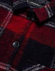 Peak Performance - W Kelly Shirt Jacket Tricolour - wool midlayer - tricolour - 4