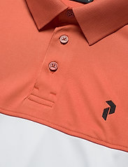 Peak Performance - Player Block Polo Men - paidat - clay red - 2