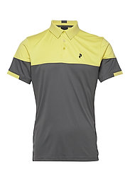 Player Block Polo Men - SUNNY YELLOW